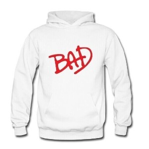 High Quality Michael Jackson hooded sweater, BAD logo sweater,lovers sweater