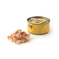 【FISH4CATS】フィッシュ4キャット缶詰「ツナ&チーズ」TUNA FILLET WITH CHEESE/バラ(70g)