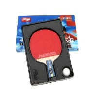 DHS Professional Quick-attack X Series Carbon Table Tennis Racket-penhold