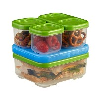Rubbermaid LunchBlox Sandwich Kit, Food Storage Container, Green (1806231) by Rubbermaid