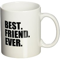 3dローズInspirationzStoreタイポグラフィ – Best Friend Ever – Gifts for BFFs and Good Friends – ユーモア –...