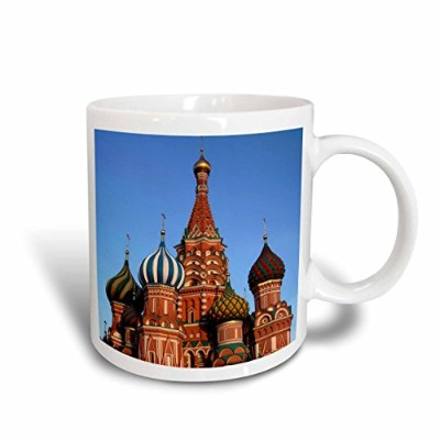 3drose Danita Delimont–大聖堂モスクワ–ロシア、。ST BASILS CATHEDRAL IN RED SQUARE–eu26kwi0023–キムリ・ウィット...