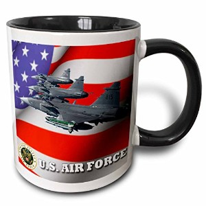 3dローズEdmond Hogge Jr Patriotic – United States Air Force – マグカップ 11 oz ホワイト mug_61135_4