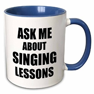 3dローズInspirationzStoreタイポグラフィ – Ask Me About Singing Lessons self-promotion広告音声音楽先生マーケティングAdvertisem...