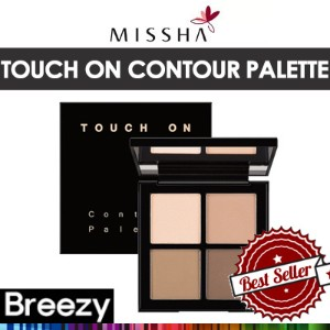 [BREEZY] ★ [MISSHA]SNS話題!ミシャタッチオンコンツアーパレット/ Touch On Contour Palette 16g