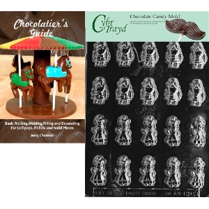 Cybrtrayd ' b.s. Mr。and Mrs Claus 'クリスマスチョコレート型Chocolatierのガイド