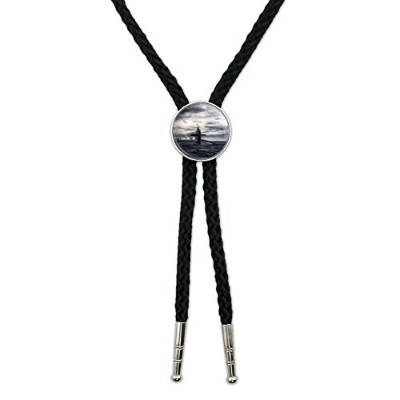 Nuclear潜水艦at Sea Western SouthwestカウボーイネクタイBow Bolo Tie