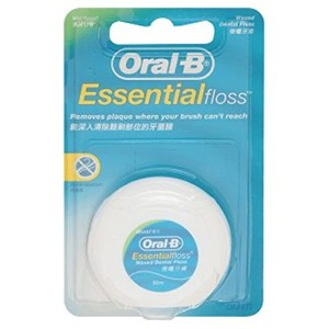Glide Pro-Health Cool Mint Deep Oral-B Essential Floss 50m デンタルフロス