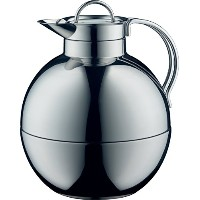 Alfi Kugelガラス真空Polished Thermal Carafe for Hot and Cold Beverages、0.94L、ステンレススチール