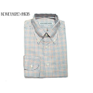 【期間限定20%OFF!】INDIVIDUALIZED SHIRTS(インディビジュアライズド シャツ)/L/S STANDARD FIT B.D. TATTERSALL CHECK SHIRTS...