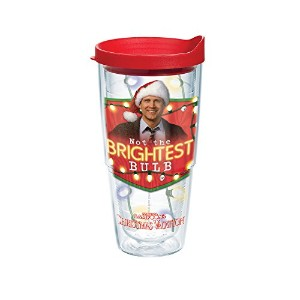 Tervis 1160243Tumbler withレッド蓋、24-ounce、クリスマス休暇