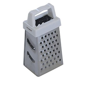 CybrTrayd Mini Box Grater, Stainless Steel by CybrTrayd