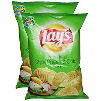 Lays American Style Cream & Onion flavour, 30 grams, (Pack of 2) - India - 並行輸入品 - レーズアメリカンスタイルのクリーム...