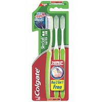 歯を磨く Toothbrush Slim Soft Tri-Tip Pack 3
