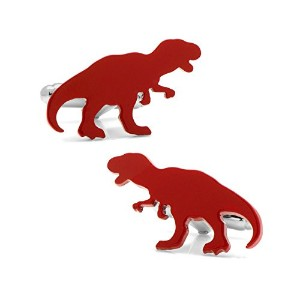 Athena Dinosaur T - Rex Cuff Links inギフトボックス