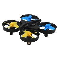 onemores h36Miniドローン2.4GHz 4CH 6-axisジャイロRCクアッドコプターヘッドレスLED 360°フリップ As Described ブラック ONEMORES