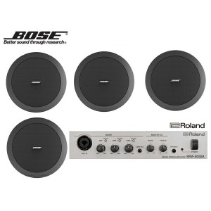 BOSE ( ボーズ ) DS16FB (4SP) 天井埋込セット(SRA-5050A) ◆ セット内容・DS16FBx4 ・SRA5050Ax1 [ DS series ][ 送料無料 ]