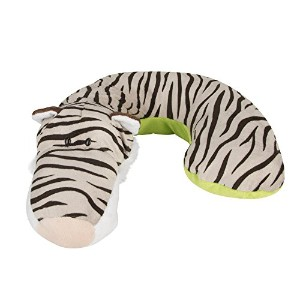 Animal Planet Kid's Neck Support Pillow, White Tiger, Toddler Car Seat Pillow, Baby Head Support,...