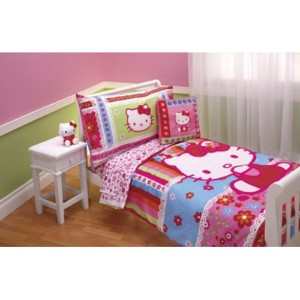 Hello Kitty 4pc Toddler Bedding Set by Hello Kitty
