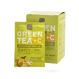 Sen Cha - Green Tea + C with Acerola Cherry - Citrus Ginger - 10 x 5g