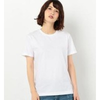 Hanes 2P JPNfit C/N-T WH【アナザーエディション/Another Edition レディス Tシャツ・カットソー WHITE ルミネ LUMINE】
