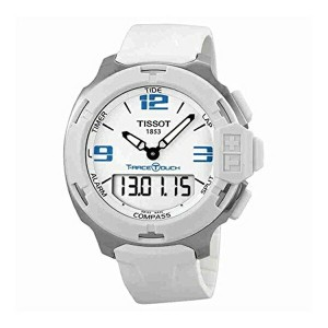 ティソ Tissot 腕時計 メンズ 時計 Tissot Men's T0814201701701 T-Race Touch Analog-Digital Display Swiss Quartz...