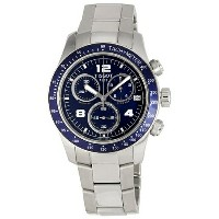 ティソ Tissot 腕時計 メンズ 時計 Tissot Men's T0394171104700 V-8 Chronograph Watch