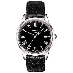 ティソ Tissot 腕時計 メンズ 時計 Tissot T-Classic Dream Black Dial Mens Watch T033.410.16.053.00