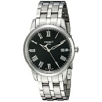 ティソ Tissot 腕時計 メンズ 時計 Tissot Men's T0334101105300 Classic Dream Stainless Steel Watch
