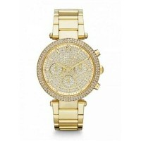 マイケルコース Michael Kors メンズ 腕時計 時計 Michael Kors Parker MK5856 Gold Watch