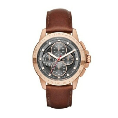 マイケルコース Michael Kors メンズ 腕時計 時計 Michael Kors Men's Ryker Rose Gold-Tone Watch MK8519