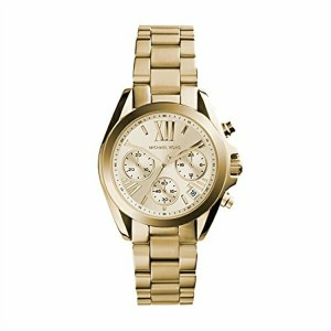 マイケルコース Michael Kors レディース 腕時計 時計 Michael Kors MK5798 Ladies Gold Mini Bradshaw Watch