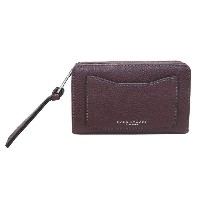 MARC JACOBS マークジェイコブス M0008172-538 Black Berry L字ファスナー小銭入れ付 二つ折り財布 Recruit Compact Wallet 【RCP】