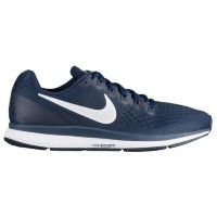 (取寄)Nike ナイキ メンズ エア ズーム ペガサス 34 Nike Men's Air Zoom Pegasus 34 Obsidian White Nautral Indigo