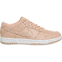ナイキ nike レディース シューズ・靴 スニーカー【dunk low-top leather trainers】Artic orange lab