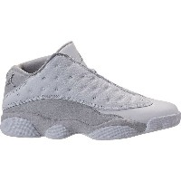 ナイキ メンズ バスケットボール スポーツ Men's Air Jordan Retro 13 Low Basketball Shoes White/Metallic Silver/Pure...
