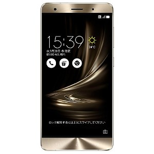 ASUS ZenFone3 Deluxe SIMフリースマートフォン (シルバー/5.7インチ)【日本正規代理店品】(Snapdragon821/6GB/256GB/DSDS)ZS570KL...