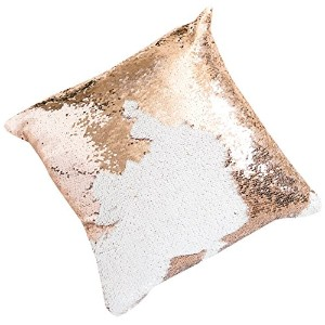 Ankit Sequin Pillow (Champagne Gold)
