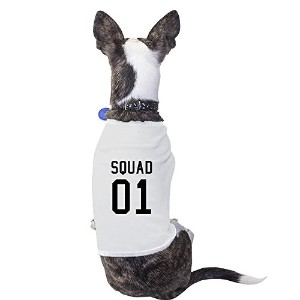 Squad Pet Shirt White Funny Matching Family Unique Dog Dad Gifts