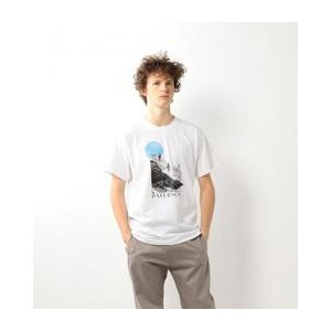PATERSON  EXPO TEE/Tシャツ【ビューティアンドユース ユナイテッドアローズ/BEAUTY&YOUTH UNITED ARROWS メンズ Tシャツ・カットソー WHITE ルミネ...