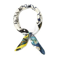 manipuri [マニプリ] /  Silk scarf(65cm×65cm) -patchwork bangle- (シルクスカーフ パッチワーク)Silk-scarf-pw-bangle...
