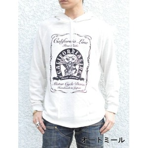 "【CALIFORNIA LINE/カリフォルニアライン】スウェット/ RAGLAN SLEEVE PARKA ""MERMAID""★REALDEAL"