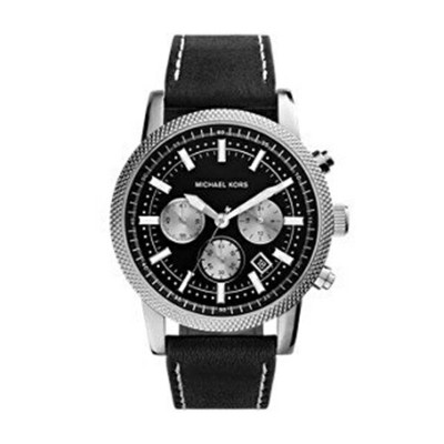 マイケルコース Michael Kors メンズ 腕時計 時計 Michael Kors Silver-Tone Scout Men's Watch