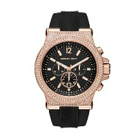 マイケルコース Michael Kors メンズ 腕時計 時計 Michael Kors Men's Black Watch MK8557