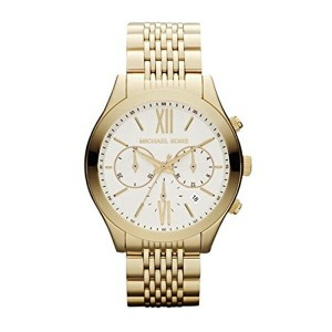 マイケルコース Michael Kors レディース 腕時計 時計 Michael Kors Brookton Chronograph Gold-Tone Stainless Steel...