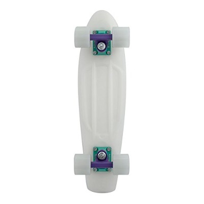 """Penny Skateboard(ペニースケートボード) PENNY GLOW IN THE DARK COMPLETE 22"""" 0PGL1 GLACTIC-PURPLE 全長22インチ(約56cm..."""