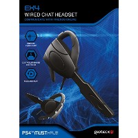 Gioteck EX4 Wired Chat Headset (PS4) (輸入版)