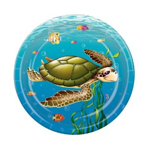 """Under the SeaプレートParty Accessory ( 1Count ) ( 8/ Pkg ) 7"""" 58061"""