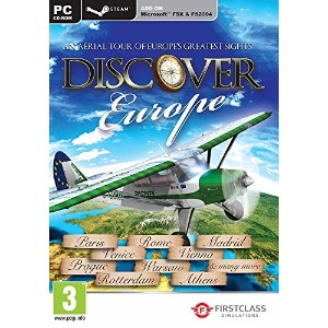 Discover Europe FSX and Steam (PC) (輸入版)