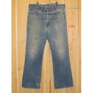 70s古着 リーバイス/LEVIS 517-66前期 シングルステッチ ブーツカット MADE IN USA/W35×L31/送料無料